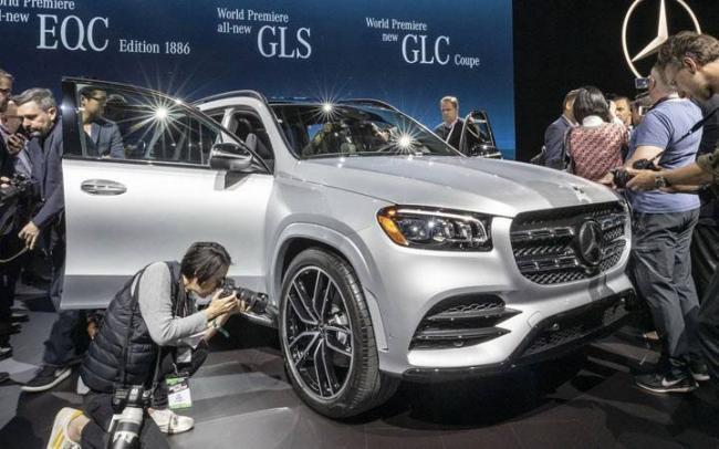 Презентация нового Mercedes GLS 2020