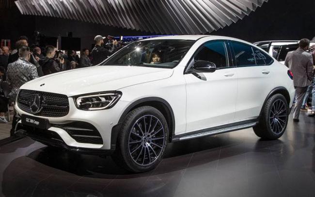 Экстерьер Mercedes GLC Coupe 2019-2020