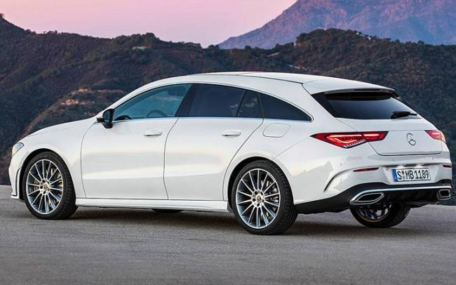 Экстерьер Mercedes CLA Shooting Brake 2019-2020