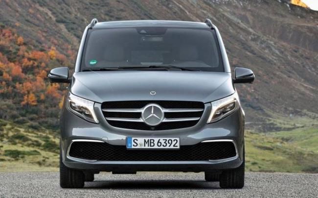 Экстерьер Mercedes V- Class 2020 года
