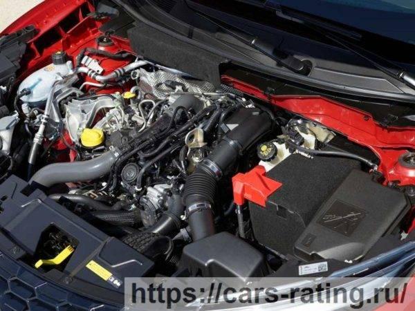 Nissan Juke 2021 двигатель