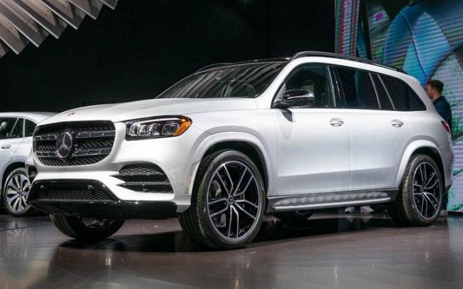 Новый Mercedes GLS 2019-2020