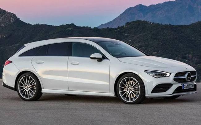 Mercedes CLA Shooting Brake 2019-2020